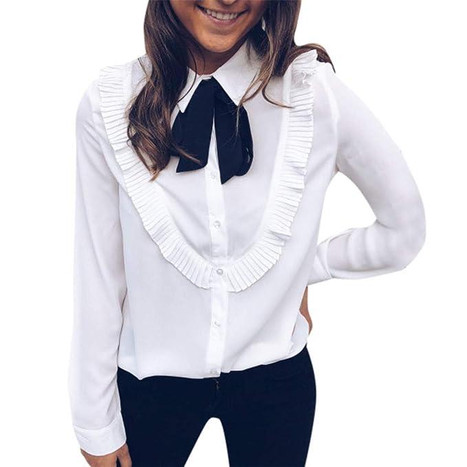 online store 88779 43b75 Blusa da Donna Elegante, Yusealia Camicia e Camicetta Donna ...