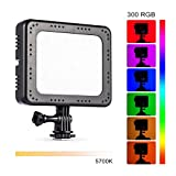 TARION TL-10 LED Panel Light RGB 5700K RA96 300 Colors Video Light DSLR