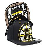 Boston Bruins Zephyr Menace Black Snapback One Size