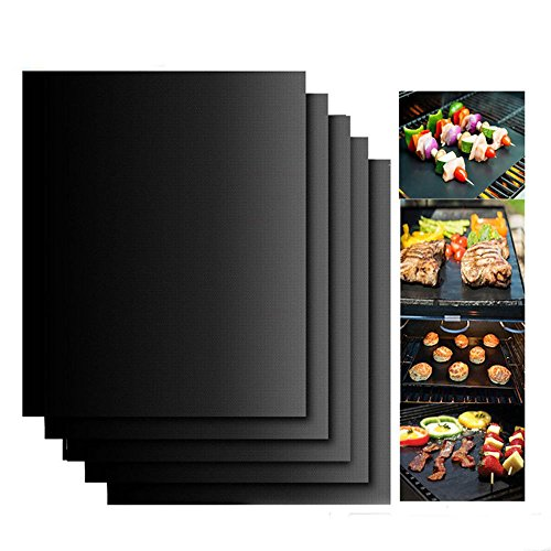 Dolphins Cue Miami Stick - 2 Mats Easy BBQ Grill Mat Bake NonStick Grilling Mats As Seen On TV New