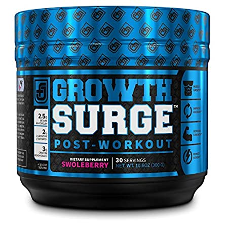 Growth Surge Post Workout Muscle Builder with Creatine,...