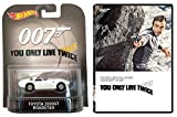 You Only Live Twice James Bond DVD & Toyota 2000GT Roadster Car 007 Set Hot Wheels Die-Cast edition movie Set