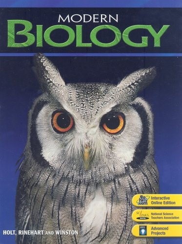 cheapest copy of modern biology  student edition 2006 by