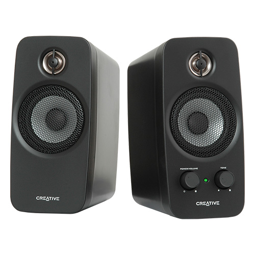 Creative Inspire T10 2.0 Speakers (2-Piece) Black MF1601