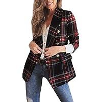 STRIR Chaqueta para Mujer Elegant Otoño Blazers Abrigo de suéter OL Casual Cardigans Chaqueta Coat Cloak Otoño Outwear
