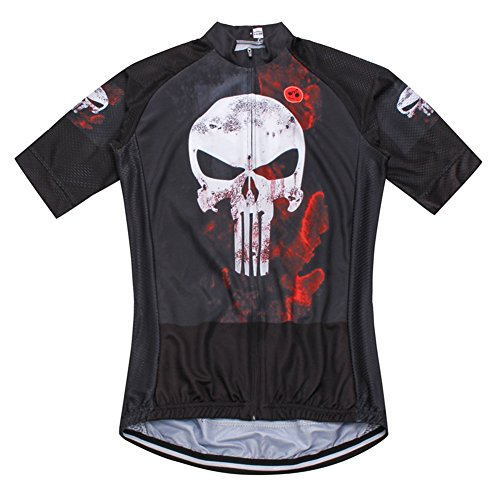 26d45c95d Weimostar Summer Men s Bicycle Short Sleeve Jersey Top Punisher Size ...