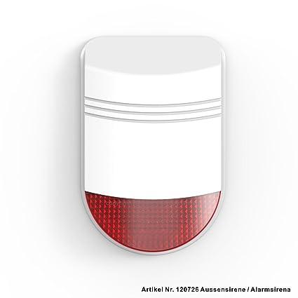 PROTRON Smart Home - Sirena de Alarma para Sistema de Alarma ...
