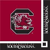 South Carolina Gamecocks Beverage Napkins, 20-Count