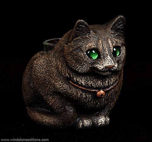 - Crouching Cat Candle Lamp