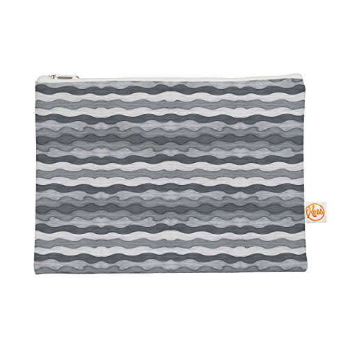 Kess eigene 12,5x 21,6cm Empire Ruhl 51Shades of Gray Alles-Tasche, Grau/Weiß