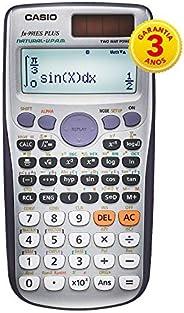 Calculadora Científica 417 Funções, Casio, FX-991ESPLUS, Visor de 4 Linhas, Prata