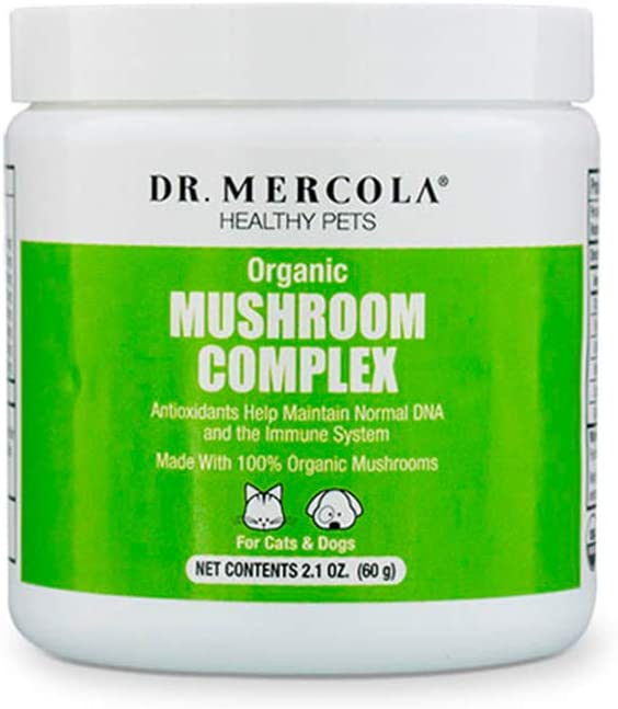 Whole Food Mushroom Complex for Pets