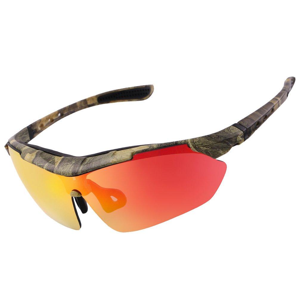 LJ Sport polarisiert Sport Sonnenbrille lences UV400 Schutz Radfahren im Freien Sonnenbrille