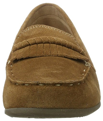 Gabor Comfort WoMen Rust Mocassins Brown 45 w75qPwrxA