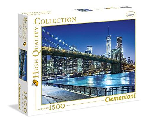 Clementoni New York Puzzle (1500-Piece)