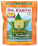 Dr. Earth 706P Organic 7 All Purpose Fertilizer in Poly Bag, 4-Pound