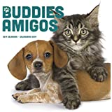 2019 Buddies/Amigos Wall Calendar (English and Spanish Edition)