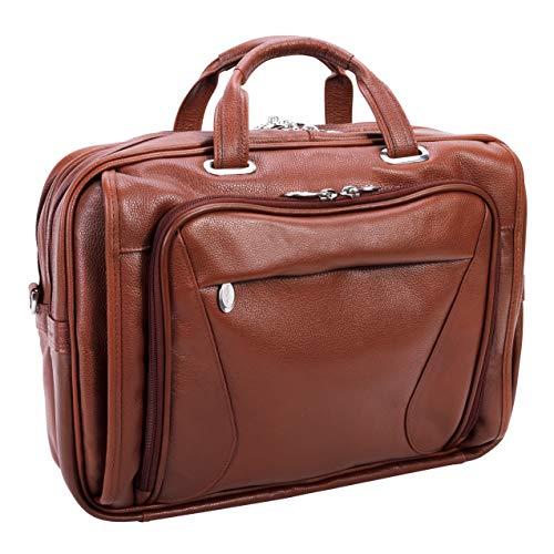 - McKlein, S Series, Irving Park, Pebble Grain Calfskin Leather, 15