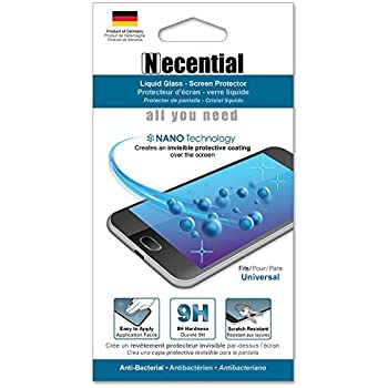 Liquid Glass Screen Protector -Invisible Protective Coating 9H Hardness Water Repellent, 99.9% Bacteria Repellent, and Scratch Resistant!