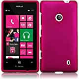 Nightly Pink Hard Case Cover Premium Protector for Nokia Lumia 521 (by AT&T / Metro PCS / T-Mobile) with Free...