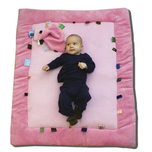 Snoozebaby Cheerful Playing Playmat, Pink