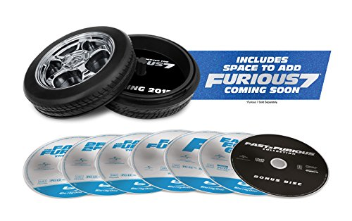025192274497 - Fast & Furious 1-6 Collection [Blu-ray] carousel main 1