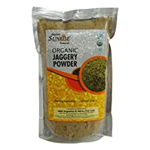 Organic Sunrise Natural Jaggery Powder 17.64 Ounce -USDA Certified