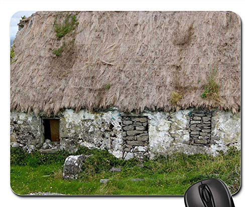 Mouse Pads - Thatched Roof Ireland Irish Cottage Thatched Roof