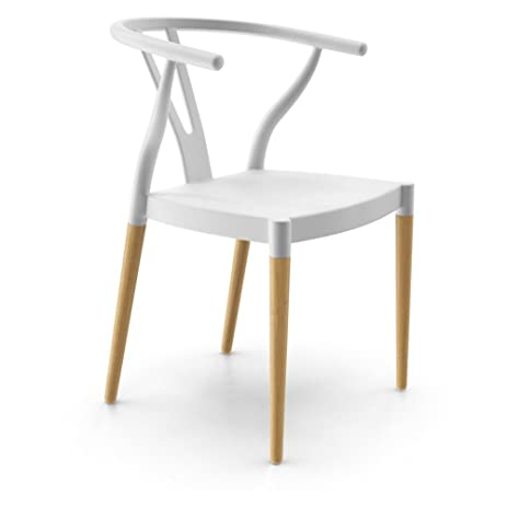 AEON Furniture Euro Home Wexler Dining Chair in White (Set of 2)