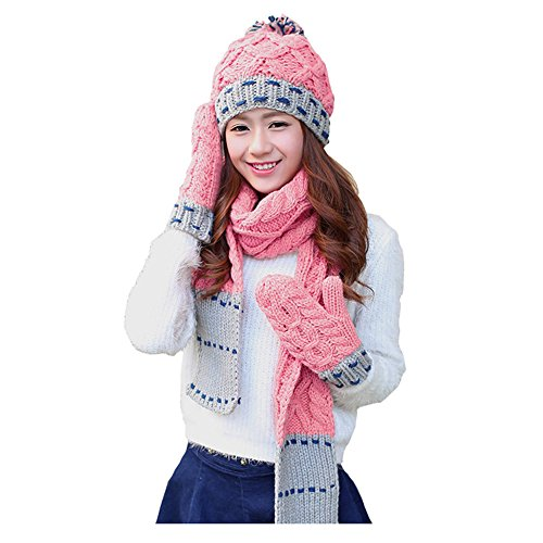 Winter Women Knitted Gloves Mitten product image