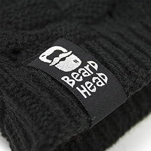 be169c1d662 Beard Head - The Original Curly Atticus Knit Beard Beanie - Cool ...