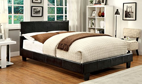 Furniture of America Torrance Platform Bed with Bluetooth Sp