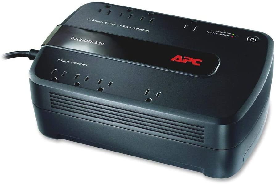 APC BE650G1 UPS Battery Backup Surge Protector