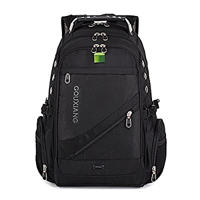 Laptops Backpack- GOUXIANG Water Resistant Computer Bag With Multipfunction Sports Gym Bag College Bookbag Business Travel Backpack Daypack Fits Most Up to 16 Inch from Gouxiang