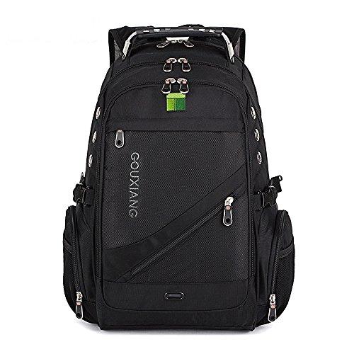 Travel Outdoor Computer Backpack Laptop bag 16''(black) - 1