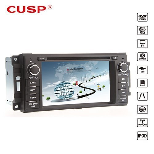 Dodge Ram Gps - Ouku Car DVD Player With GPS Navigation(free Map) For Jeep Grand Cherokee Wrangler 6.2