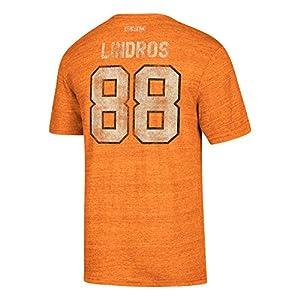 Philadelphia Flyers Retro Eric Lindros Alumni Player CCM Vintage T-Shirt Orange
