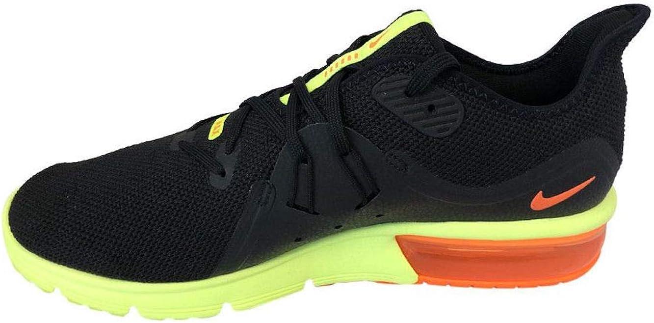 Nike Pro Core - Camiseta Para Hombre Negro Total Naranja Volt