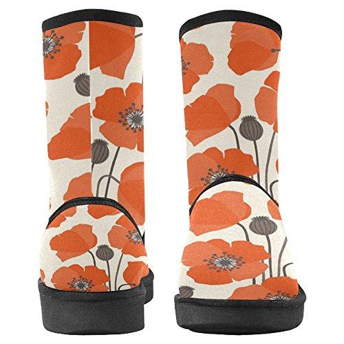 InterestPrint Womens Snow Boots Unique Designed Comfort Winter Boots Multi 31 BK2uW