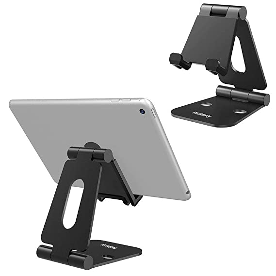 1ff71588da Nulaxy Tablet Stand, Adjustable Tablet Holder Stand for iPad, Cell Phone  Stand, Desktop