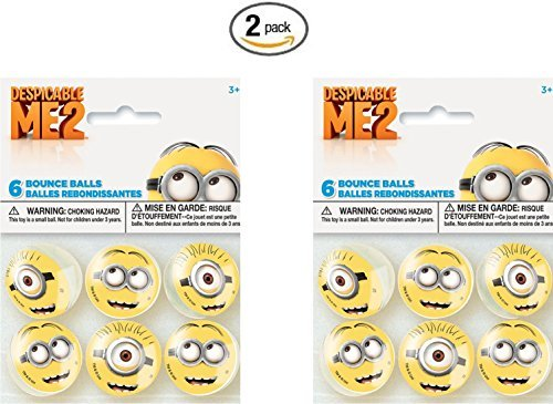 Despicable Me Bounce Balls Favors, 6ct (2 ()