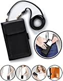 SINIANL Crossbody Bag Handbag Clutch Mini Cell Phone Pocket Pouch Purse Wallet