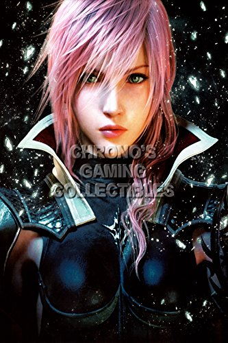 """Price comparison product image Final Fantasy CGC Huge Poster Glossy Finish XIII Lightning Returns PS3 PS4 Xbox 360 - FXIII023 (24"""" x 36"""" (61cm x 91.5cm))"""