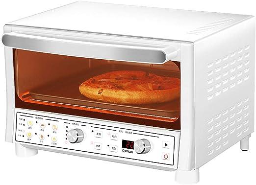 Toaster oven STBD-Mini Horno de Escritorio, 16L, Potencia de cocción de 1200W, Calentamiento de Cuarzo, Bandeja de Horno Antiadherente, Que Incluye Bandeja de Horno y Bandeja de escoria, Blanco: Amazon.es