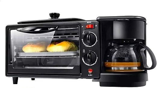 Tostadora-, cafetera/horno eléctrico tres en uno, máquina de ...