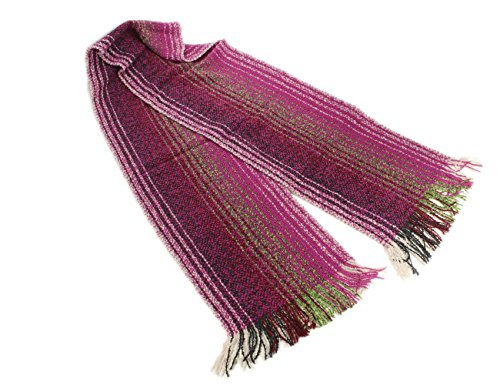 Biddy Murphy Irish Scarf Merino Wool Cashmere Blend 62 Inches Long By 9 Inches Wide Made In Ireland