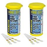 Smart Test 4-Way Pool and Spa Test Strips - 50ct (Packaging May Vary) 2-Pack