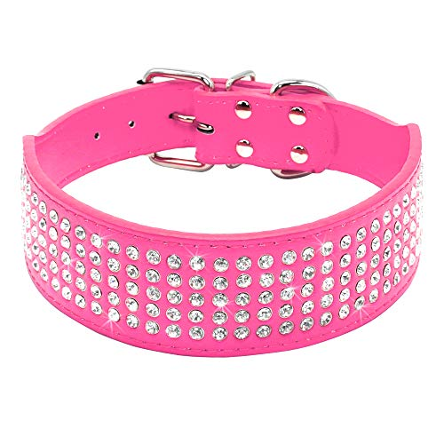 Beirui Rhinestones Dog Collars - 2