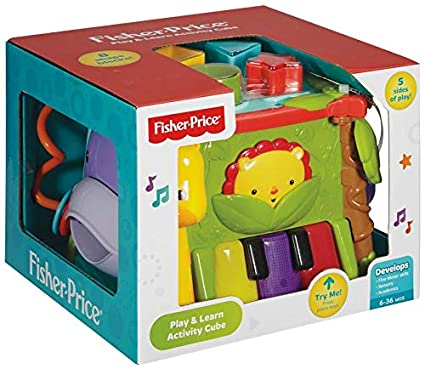 f118ecb20 Buy Fisher-Price Busy Box Man Use, Multi Color Online at Low Prices ...