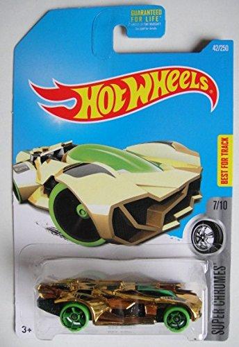 Hot Wheels 2016 Super Chromes Rev Rod 42/250, Gold
